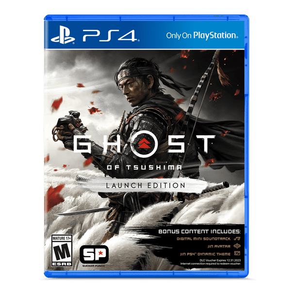 Ghost of Tsushima Launch Edition, Sony, PlayStation 4