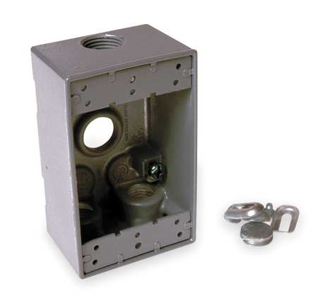 BELL 5321-0 Single Gang Outlet Box