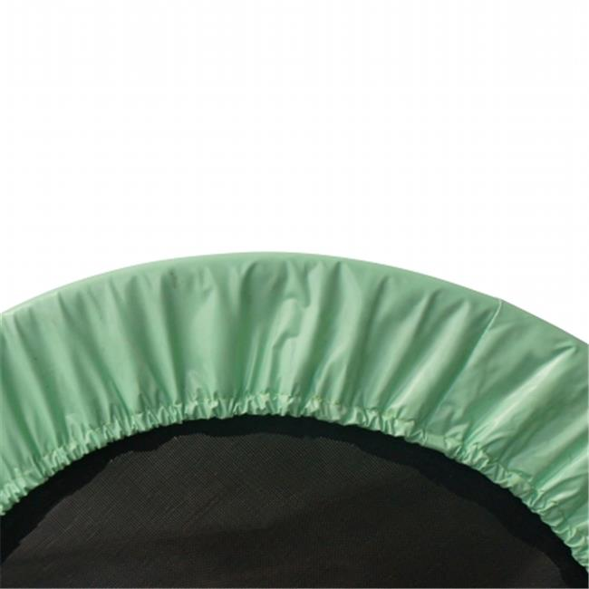 48 in. Mini Round Trampoline Replacement Safety Pad for 8 Legs, Green