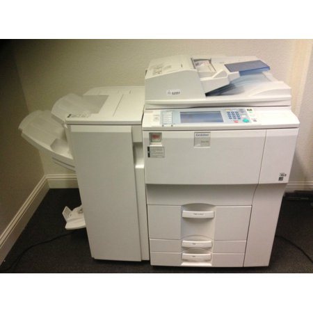 - Gestetner Dsm755 with Booklet finisher Copy Print Scan FREE SHIPPING in USA !!