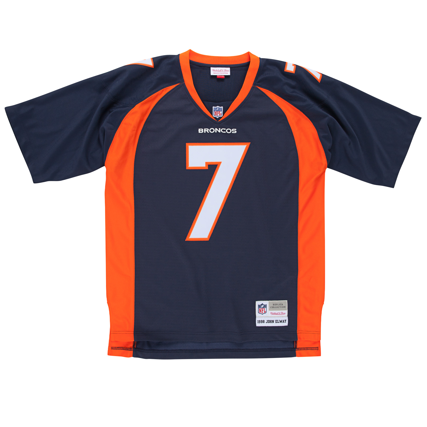 John Elway Denver Broncos NFL Mitchell & Ness Throwback Premier Navy Jersey