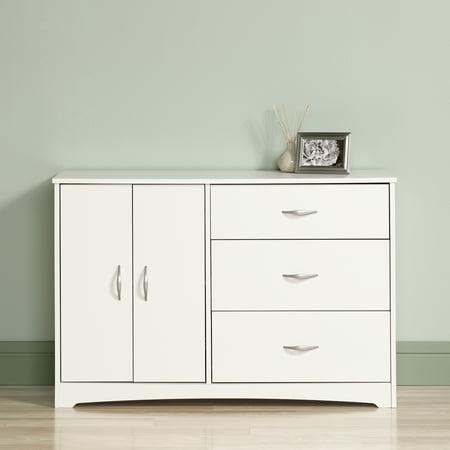 Sauder Beginnings Dresser, Soft White Finish