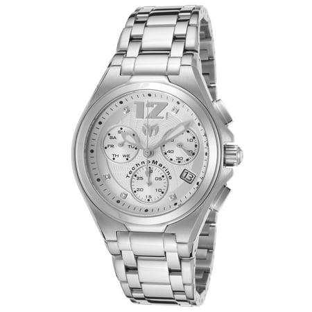 Technomarine Tm-215012 Men's Manta Neo Classic Chrono Ss Silver-Tone Dial Watch