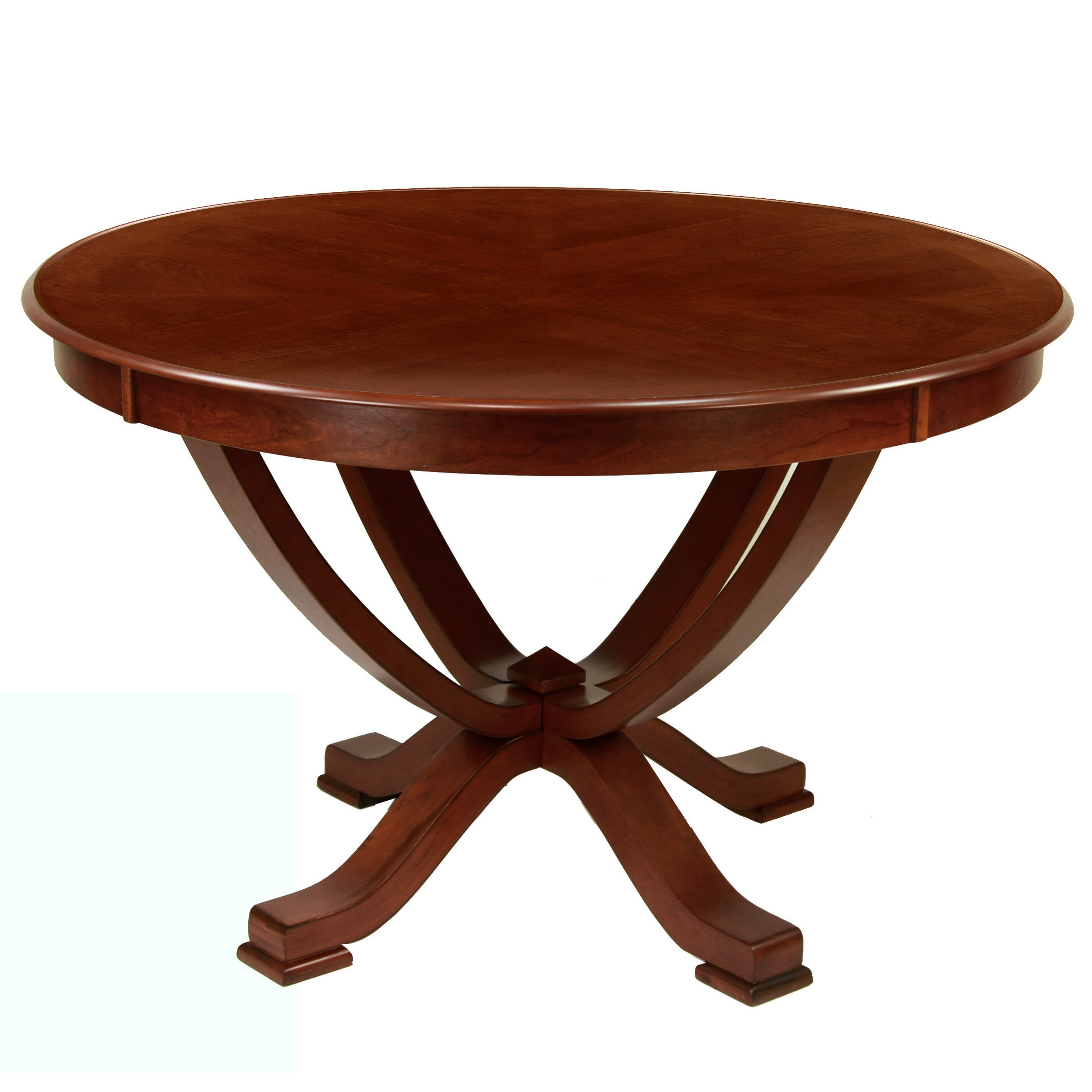 Furniture of America Primrose Brown Cherry Finish Round Dining Table by Overstock