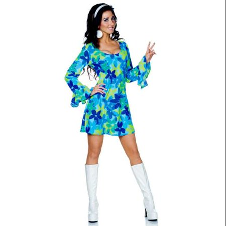 Flower Child Wild Hippie Costume