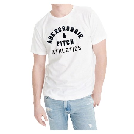Abercrombie & Fitch NY Men Muscle Fit Crew Neck Cotton Tee