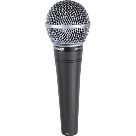Shure SM48S-LC Vocal Microphone with On & Off Switch