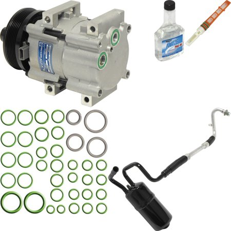 Mercury Sable Ac Compressor - New A/C Compressor and Component Kit 1050462 - 4F1Z19V703AA Taurus Sable