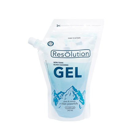 Stove Pipe Cleaning - Res Gel Non-Toxic Glass and Metal Pipe Cleaner Cleaning Solution by Resolution Colorado - 240mL