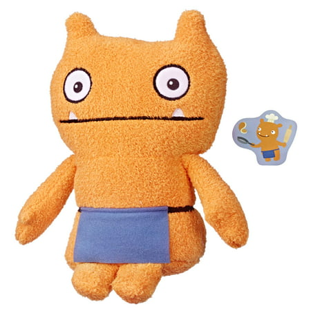 UglyDolls Warm Wishes Wage Stuffed Plush Toy, 10 inches tall