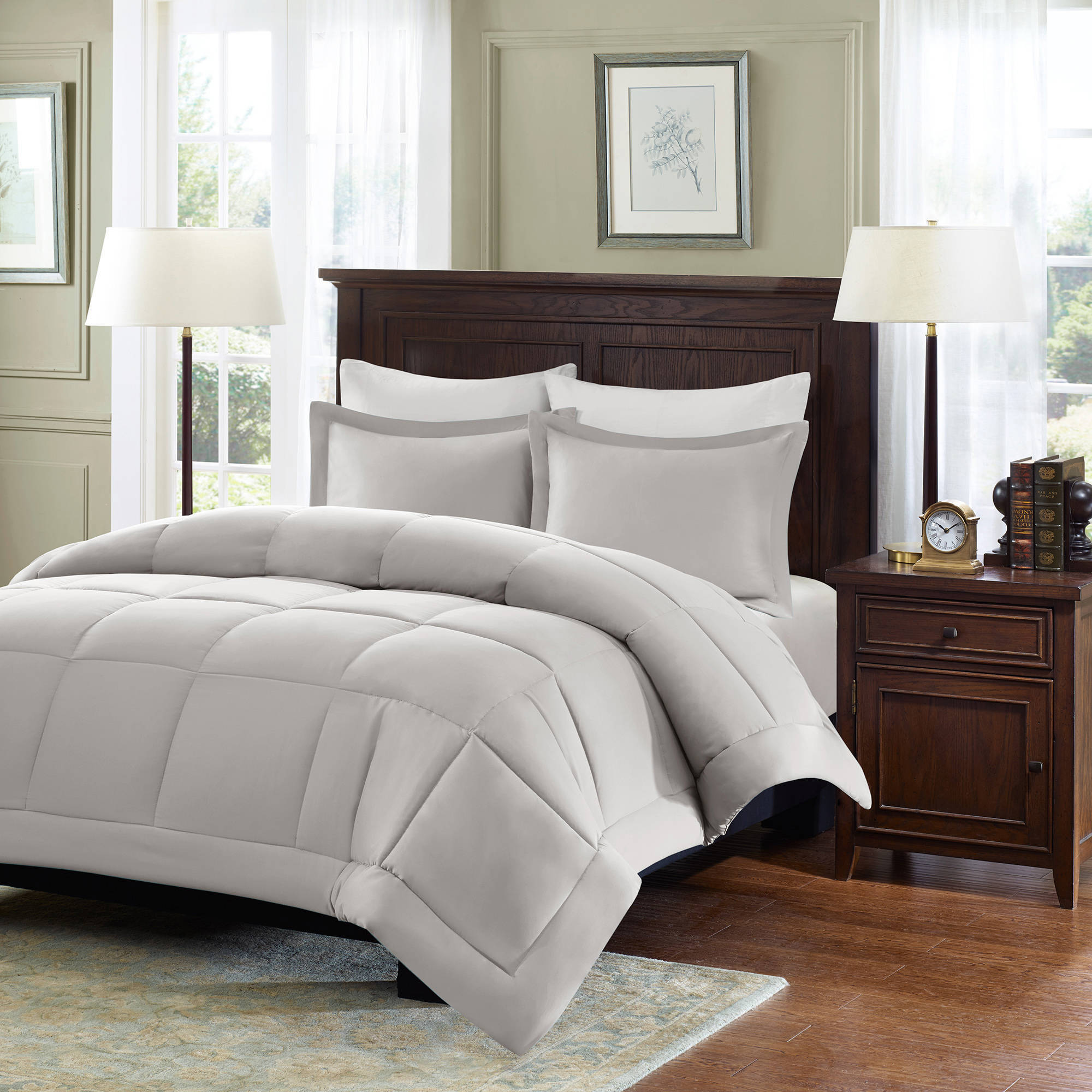 Comfort Classics Belford Microcell Down Alternative Comforter Set