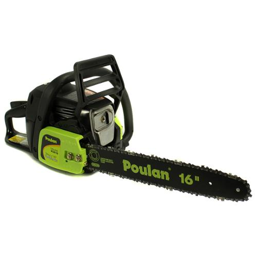 """Poulan P3816 16"""" 38CC 2-Cycle Gas Powered Chain Saw Home/Tree Chainsaw Oiler [Refurbished]"""