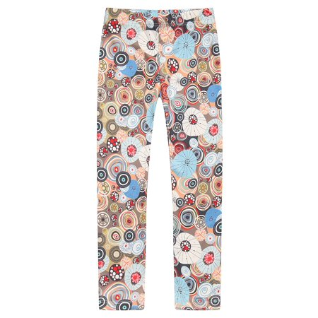 Girls' Patterned Stretch Pants RH0704 ()