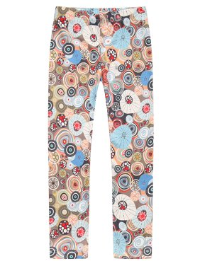 Girls' Patterned Stretch Pants RH0704
