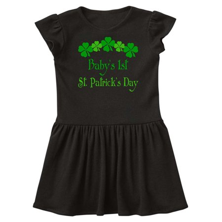 Babys 1st St Patricks Shamrock Infant Dress - St Patricks Dress