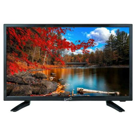Supersonic SC-2411 12 Volt AC/DC Widescreen Full 1080p HD LED TV Widescreen 1080p Plasma Tv