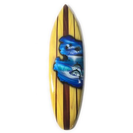 Surfboard w/ Dolphins 20