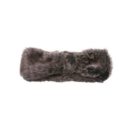 Womens Faux Fur Fashion - Fur Headband
