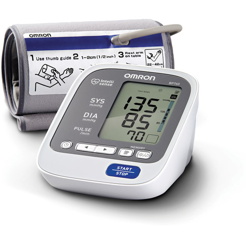 Omron HEM-711 Deluxe Upper Arm Blood Pressure Monitor