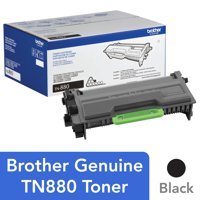 Brother Genuine Super High Yield Toner Cartridge, TN880, Replacement Black Toner, Page Yield Up To 12,000 Pages