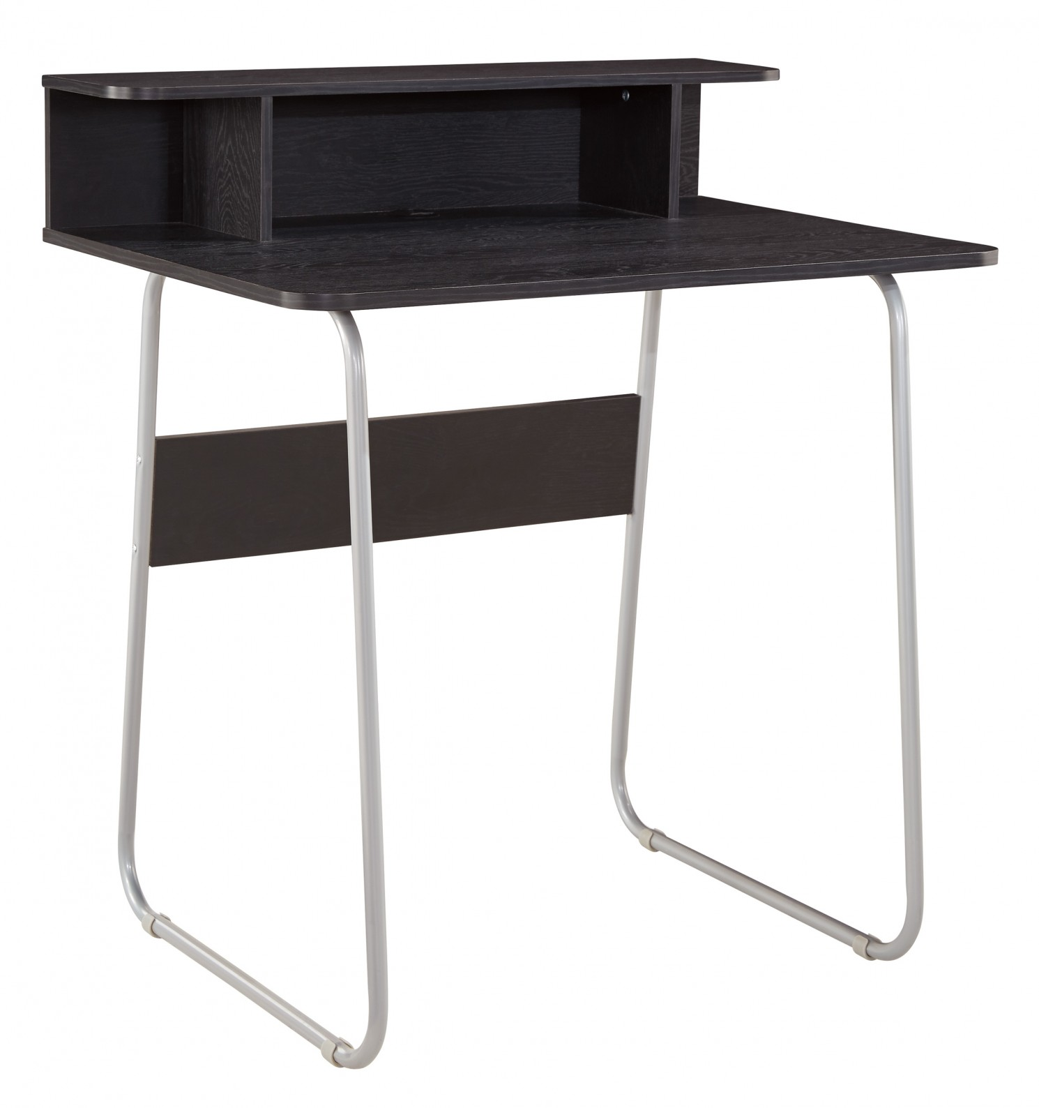 Ashley Ploviny Home Office Desk in Dark Brown - Walmart.com