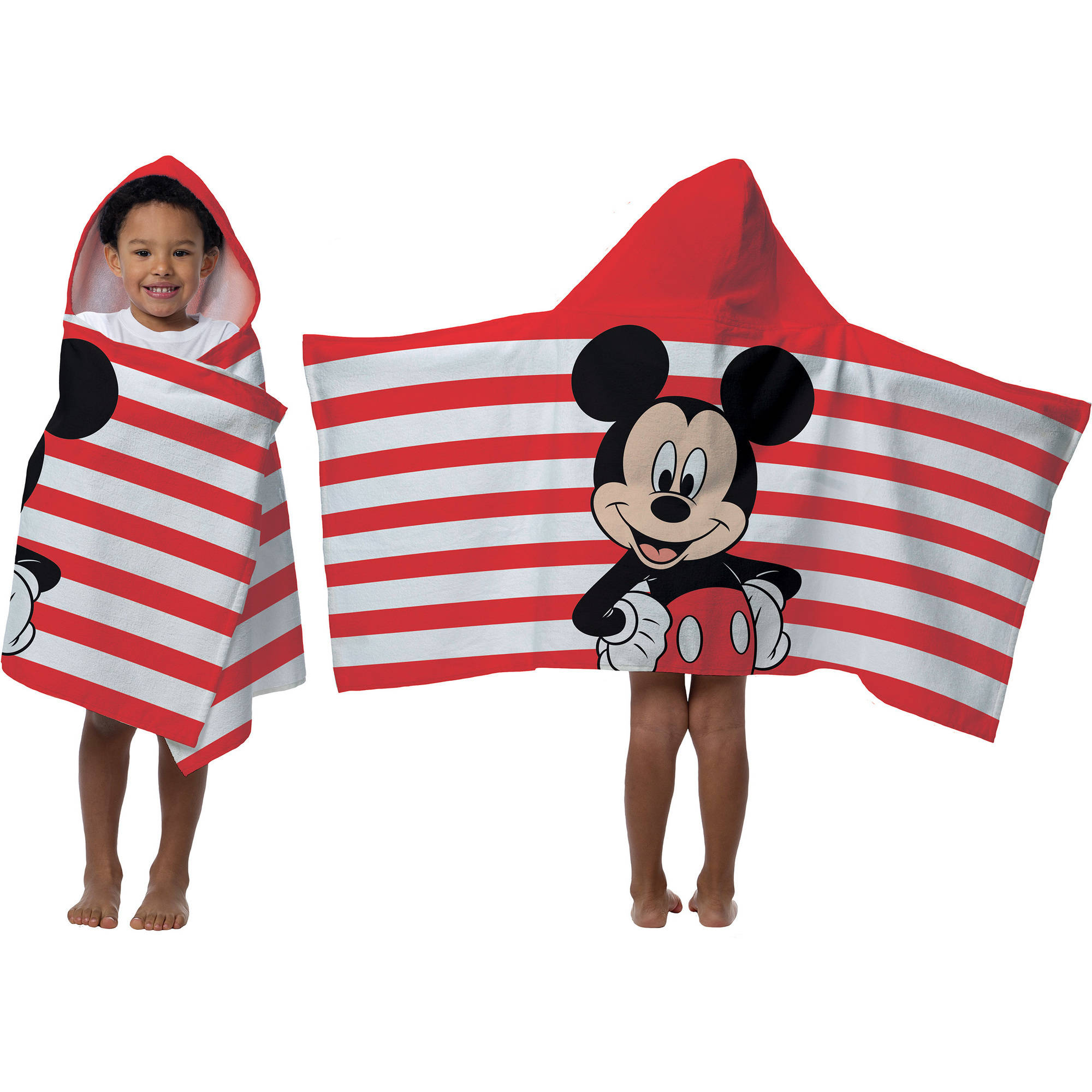 Disney Mickey Mouse Hooded Bath Towel by