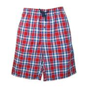 Hanes  Cotton Madras Drawstring Sleep Pajama Shorts (Men's)