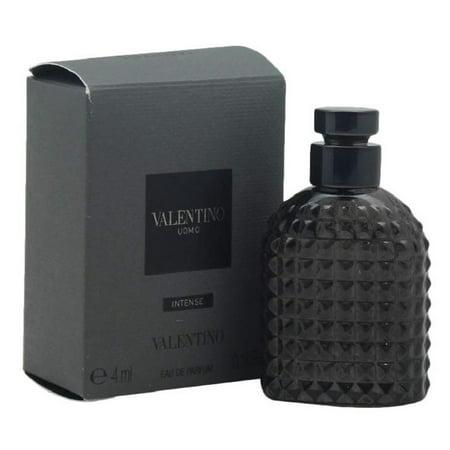 VALENTINO UOMO INTENSE * Valentino 0.14 oz / 4 ml EDP Miniature Men Splash