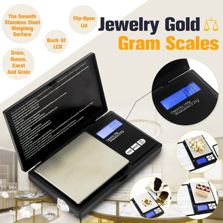 Tetra Easy Balance - Pocket 0.01g-100g Precise Digital Scale Jewelers Scale Coin Gold Weigh Balance Easy to clean