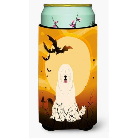 Halloween South Russian Sheepdog Tall Boy Beverage Insulator Hugger BB4290TBC - Russian Halloween