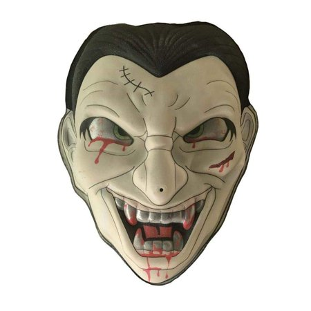 Lightahead Halloween Zombie Dracula Mask Hanging Light and Sound Monster Face - Halloween Face Paint Zombie Bride