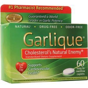 Garlique Garlic, Caplets - Garlique Garlic