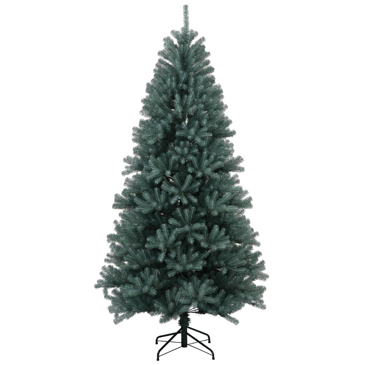 4.5' Medium Blue Crystal Pine Artificial Christmas Tree - Unlit