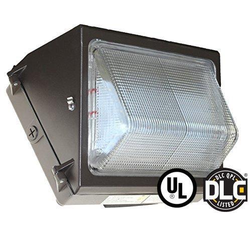 50W LED WALL PACK LIGHT - FORWARD THROW - DLC LISTED