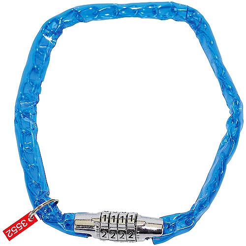 Ventura Combo Lock Chain, Blue, 50 cm long