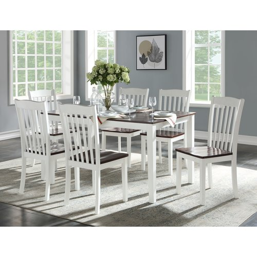 August Grove Zakary 7 Piece Dining Set