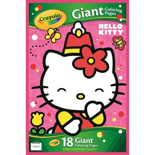 Crayola Hello Kitty Giant Coloring Pages