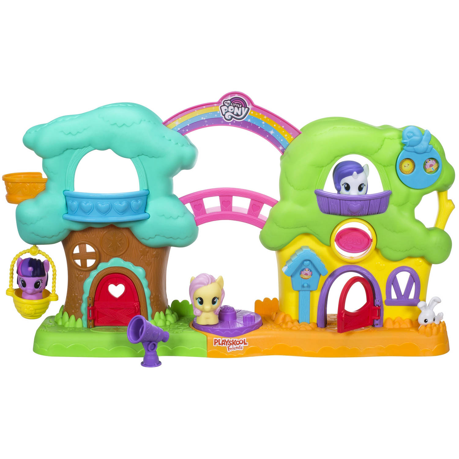 Playskool Friends My Little Pony Spin 'n Sounds Treehouse Cottage by Hasbro