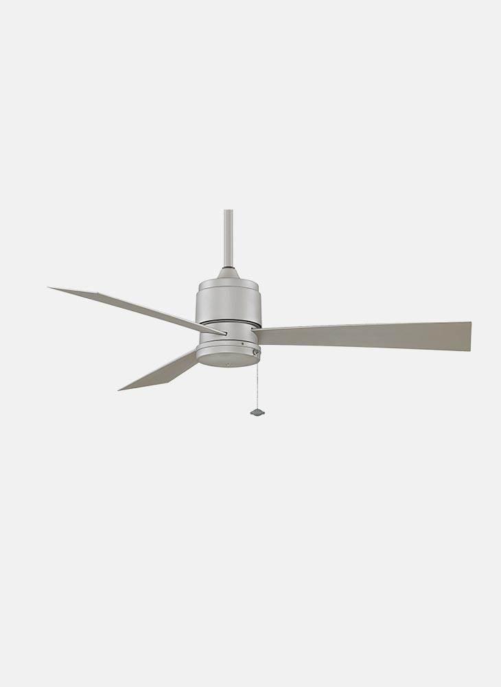 3-Blade Ceiling Fan in Satin Nickel Finish by Fanimation, Inc.