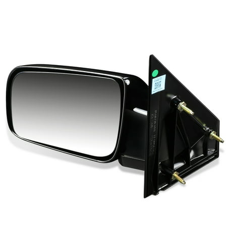 For 1988 to 2005 Chevy Astro GMC Safari OE Style Manual Driver / Left Side View Door Mirror 15757377 89 90 91 92 93 94 95 96 97 98 99 - Safari Side View Mirror