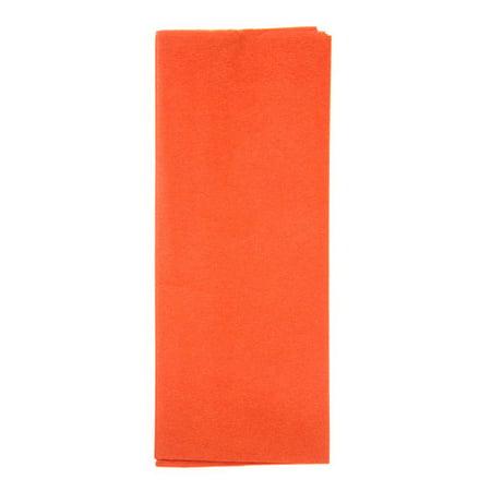 Tissue Paper - Orange - 20 x 26 inches - 8 (12 Orange Tissue)