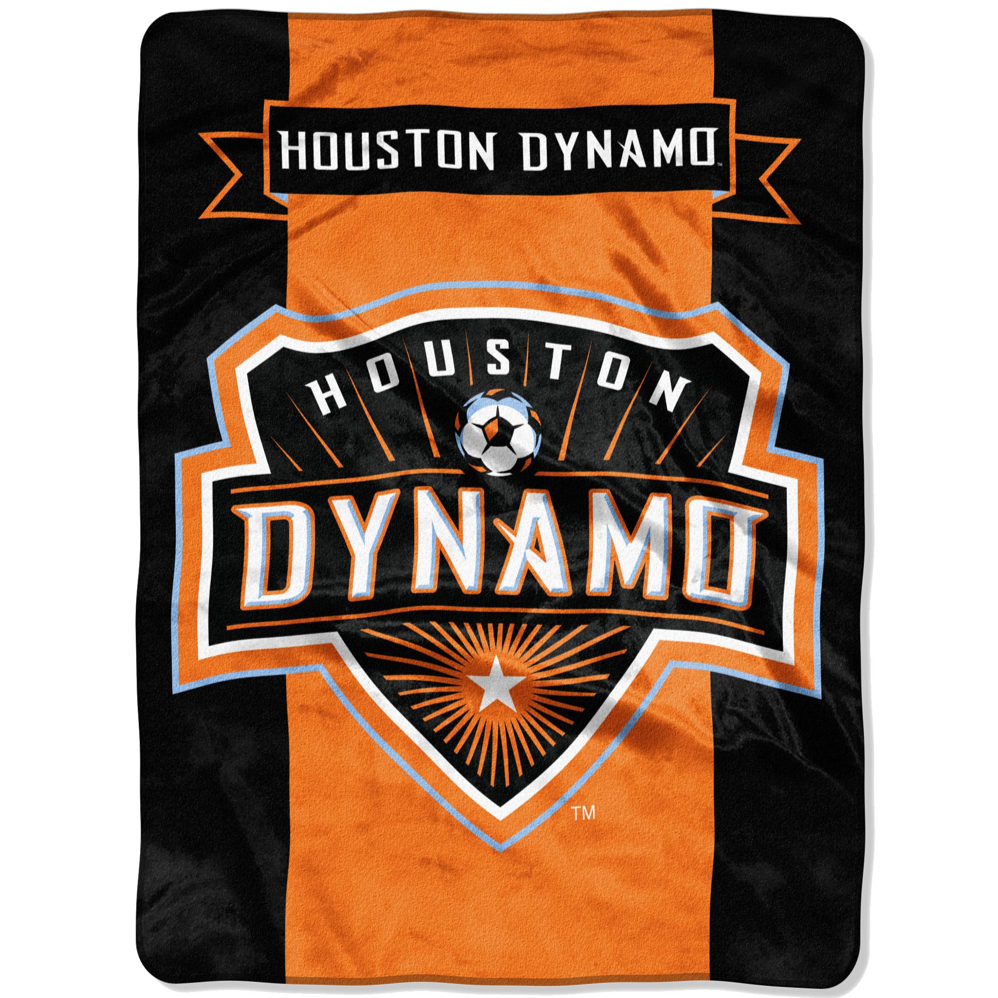 "Houston Dynamo The Northwest Company 60"" x 80"" Raschel Throw Blanket - Orange - No Size"