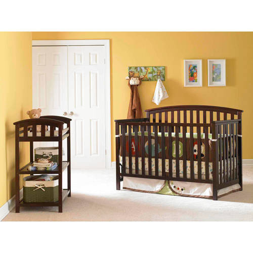 Graco Freeport 4-in-1 Convertible Fixed-Side Crib, Choose Your Finish