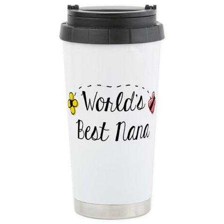 CafePress - World's Best Nana - Stainless Steel Travel Mug, Insulated 16 oz. Coffee