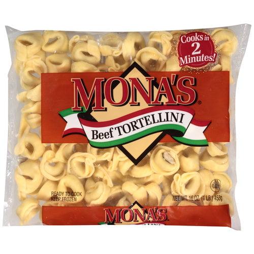 Mona¬タルs Beef Tortellini, 16 oz