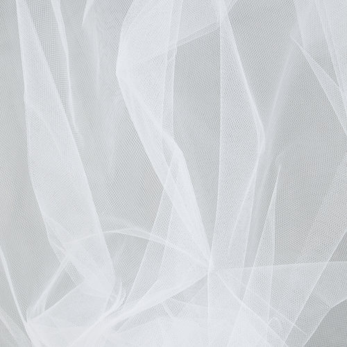 Haperlare 6 Inch x Yards (FT) White Tulle Rolls Tulle Spool White Tulle Fabric Rolls Wedding Tulle for Gift Bow Craft Tutu Skirt Wedding Party Decorations.