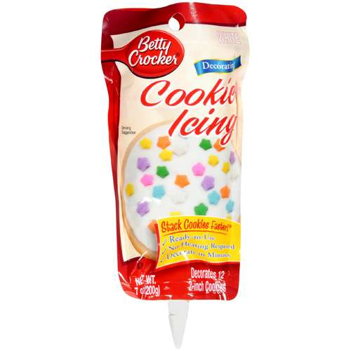 Betty Crocker White Decorating Cookie Icing, 7 oz