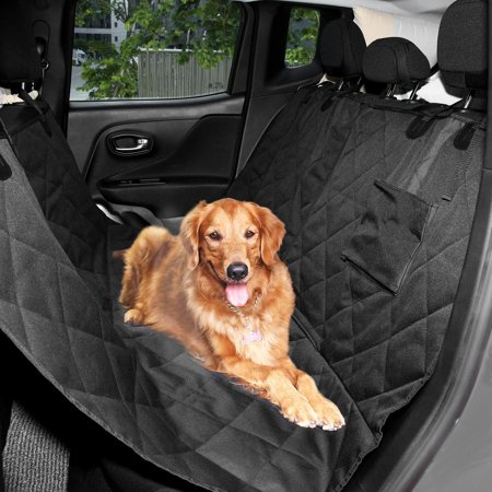 Luxury Suv Van Car Hammock For Dogs Cats Back Rear Seat Cover Waterproof Quilted Vaf
