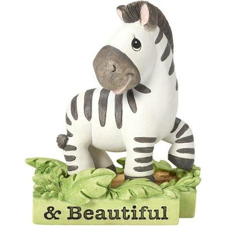 Precious Moments All Things Bright & Beautiful Zebra Resin Figurine 162414 (Precious Moments Zebra)