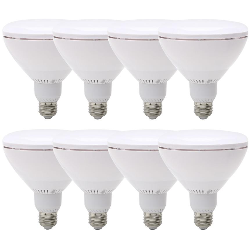 Viribright BR40 (8 Pack) LED Light Bulbs, 60+ Watt Replacement, 2700K Warm White, E26 Base, Dimmable